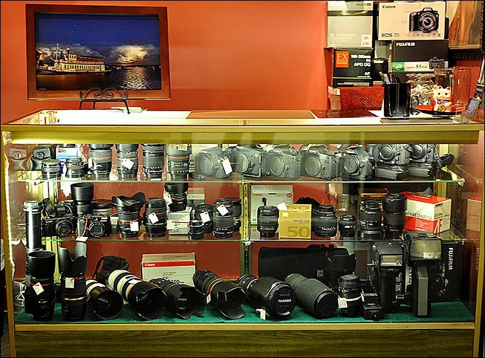Finger Lakes Photography Center Consignment Shop